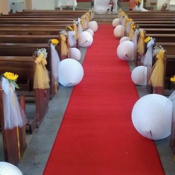 Batizado decoração Luxo Peças unitárias você escolhe a cor