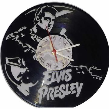 Relógio em disco de Vinil - Elvis Presley