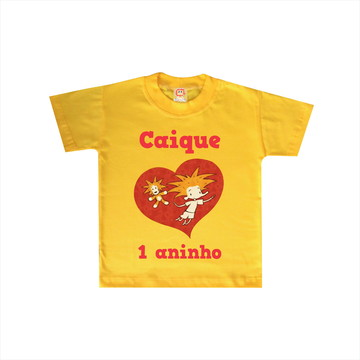 Camiseta de Aniversário Palavra Cantada