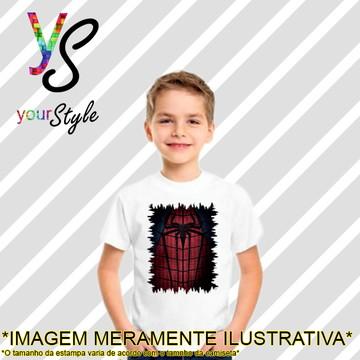 Camiseta Infantil do Homem-aranha