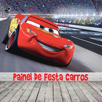 Painel de Festa Carros