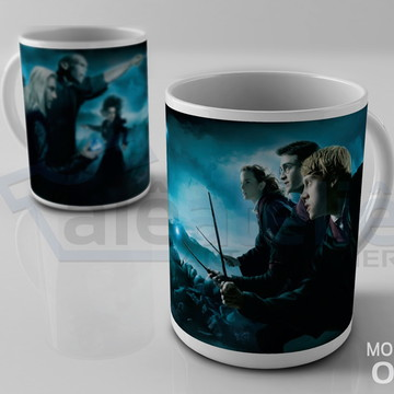 Caneca Harry Potter Lord Voldemort Hogwarts Personalizada