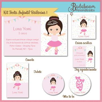 Kit Festa Infantil Bailarina I