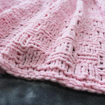 Manta trico lã