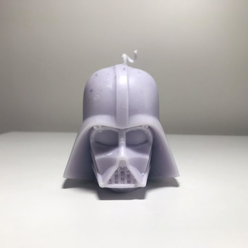 Vela Darth Vader - Pêssego
