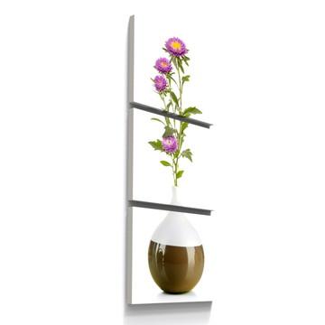 Quadros Decorativos Vaso Flores Botanico Florido Copa Tri006