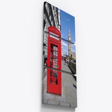 Quadros Decorativos Londres Colorido Big Ben City Tri049
