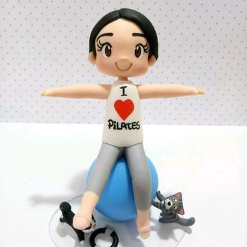 Boneco profissões - Pilates