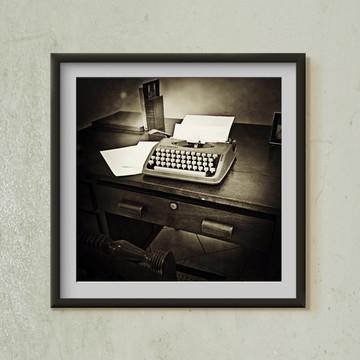 Fotografia Máquina de Escrever