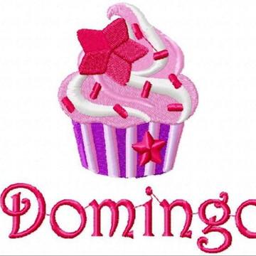 Matriz Bordado Semaninha Cupcake