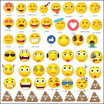 Vetores Emoji CDR, EPS, Ai e PNG (273 Vetores)