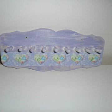 porta colares lilás (vendido)