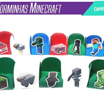 Forminha Forminhas Minecraft - 20unid