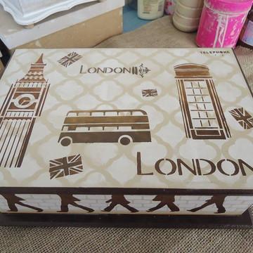 Caixa porta jóia Londres