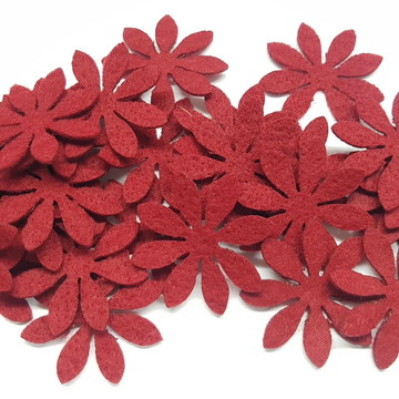 Flores Feltro - 2,5 cm