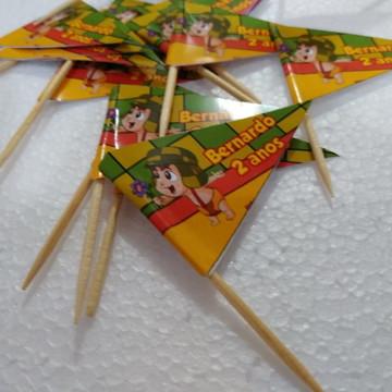 bandeirinha Chaves para decoração de docinhos personalizada