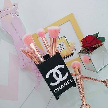 Porta Pincel em MDF Pinceis Makeup