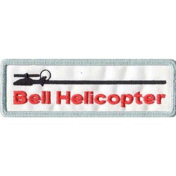 Patch Bordado - Modelo Helicoptero Bell AV20038-