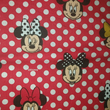 Tecidos Disney Minnie mouse