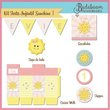 Kit Festa Infantil Sunshine I