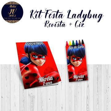 Kit para colorir Ladybug