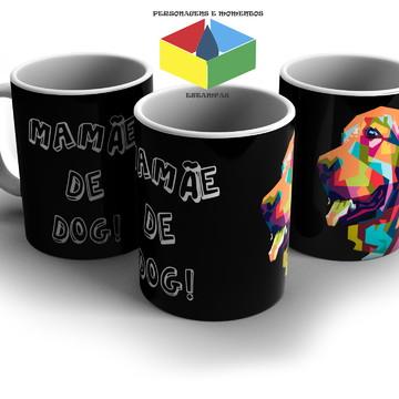 Kit 2 Caneca Pai e Mãe do Dog - Porcelana