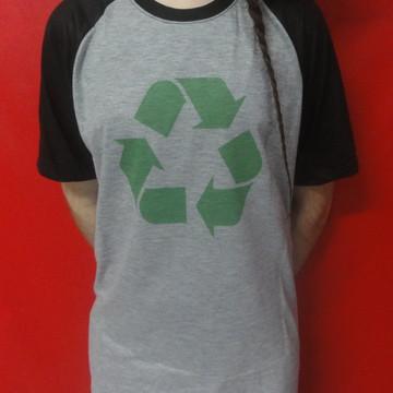 6bc642493 Camiseta Reciclagem Simbolo