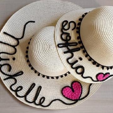 581de34a4b431 Kit de chapéus mãe e filha