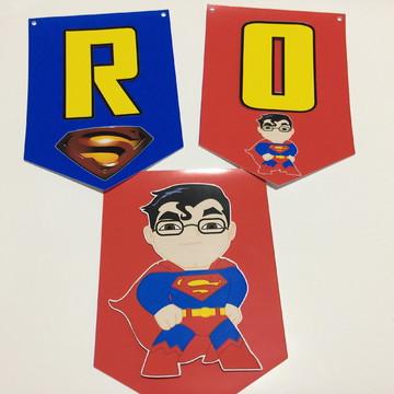 Bandeirola 3D Super Pai