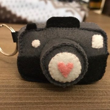 Chaveiro Máquina Fotográfica