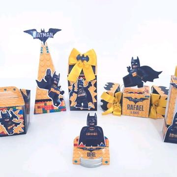 Kit Personalizados Luxo - Lego Batman