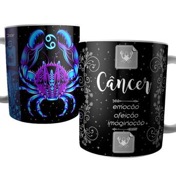 Caneca Signo de Câncer - Signos do Zodíaco - Astrologia
