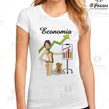 Camiseta Profissões - Economia 2