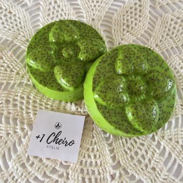 Sabonete artesanal de erva doce
