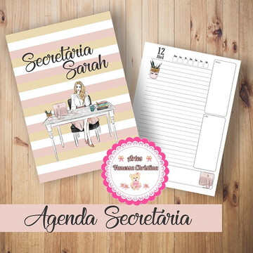 Agenda de Secretária - Temos Outros Temas