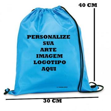 mochilas saco 20x30 cm nylon