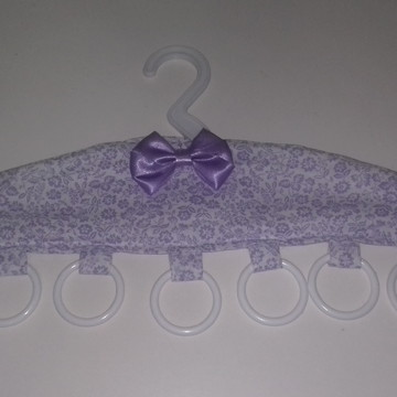 Cabide porta-bijou ou porta-echarpe com 7 argolas