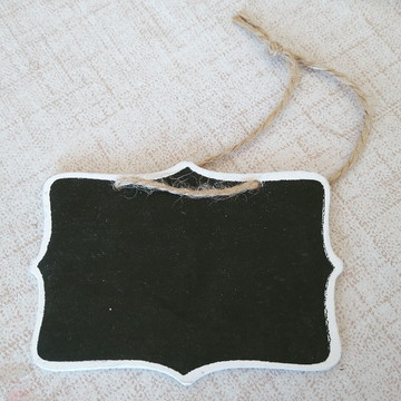 1 mini lousa vintage para suqueiras