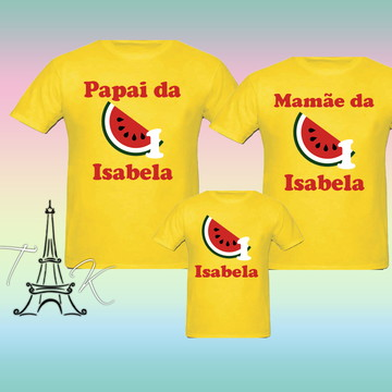 Kit 3 Camisetas Personalizadas Magali