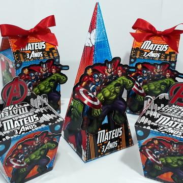Kit 25 Itens - Os Vingadores