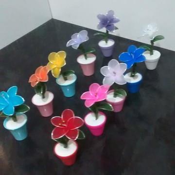 Flor em Meia de Seda (Tam. G)