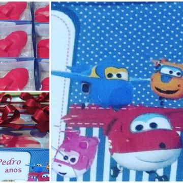 Super Wings lembrancinhas personalizadas festa infantil