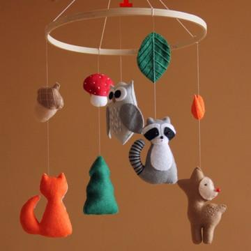 Mobile animais da floresta