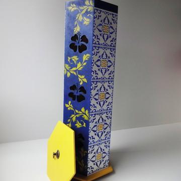 Porta Papel Higiênico - Azulejos Portugueses