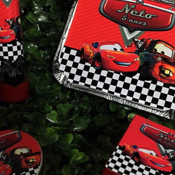 Kit 100 Lembrancinhas carros Disney 2