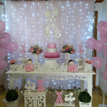 Locação Decoração Bailarina 2 - Cha de bebê ou festas