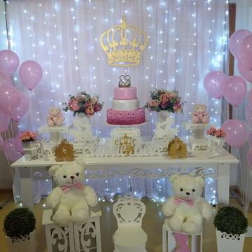 Locação Decoração Princesa 3 -Chá de bebe ou festas