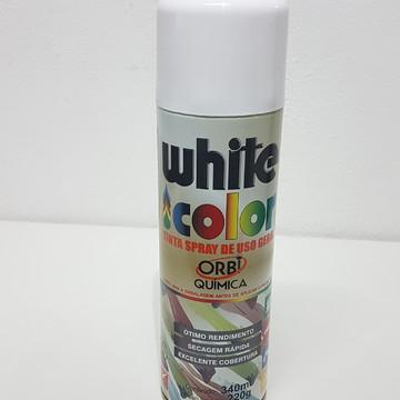 Tinta em Spray - Branco Fosco