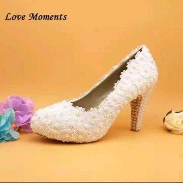 d15c0a991 Sapato de Noiva guipir personalizado