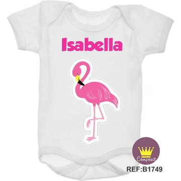 Body Flamingo Rosa